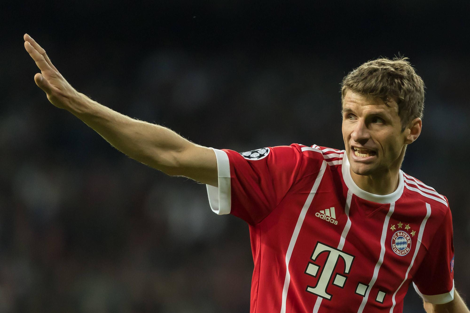 THomas Müller ist das Aushängeschild des FC Bayern.