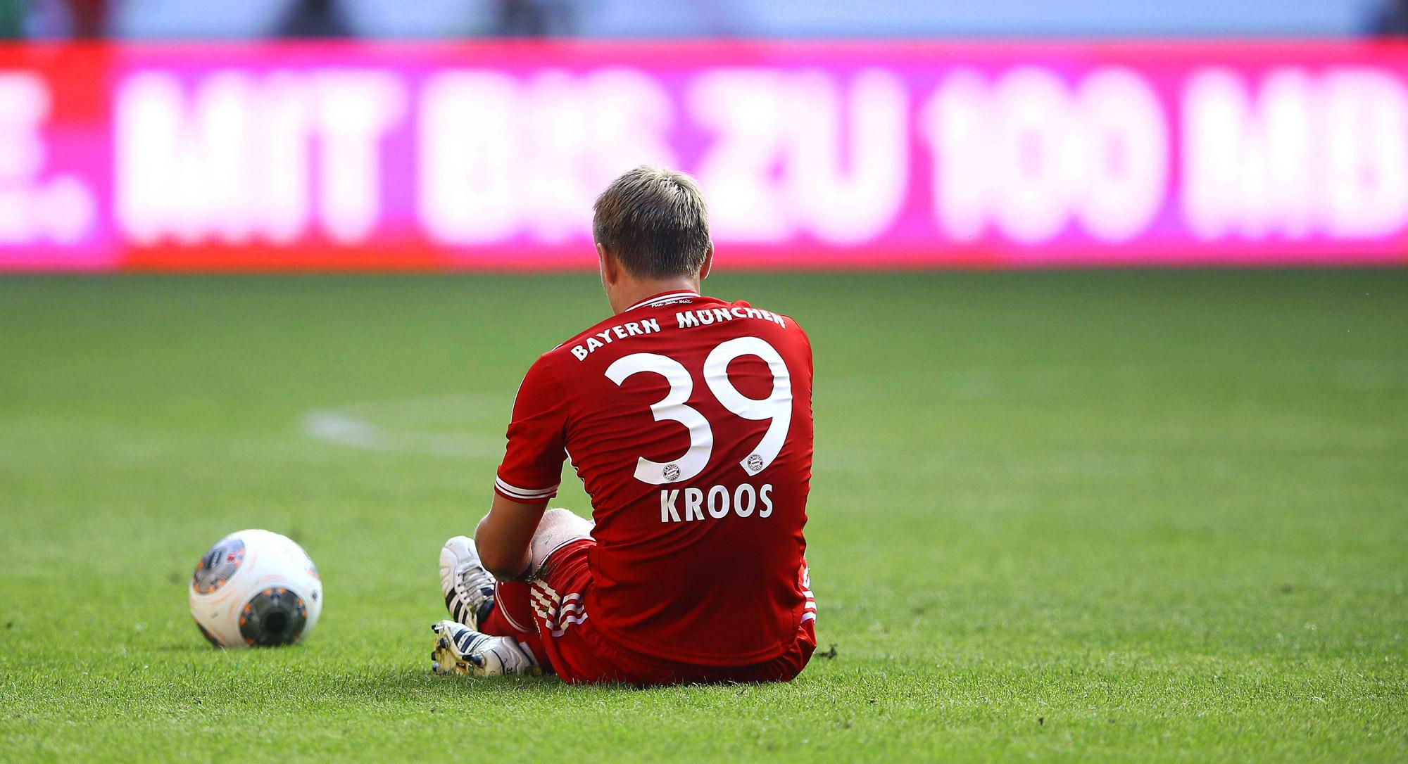 Beim FC Bayern spielt Kroos solide Jahre.