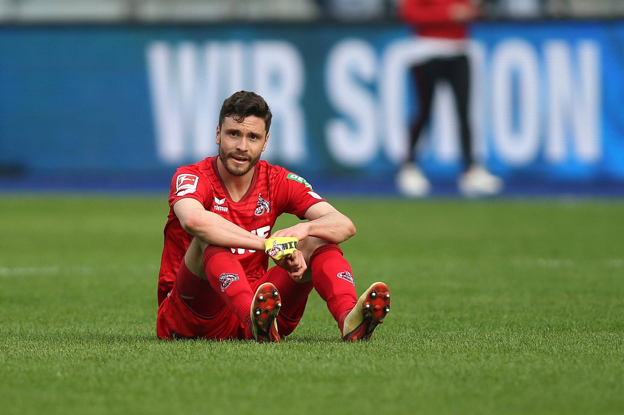Jonas Hector geht mit Köln auch in die zweite Liga.