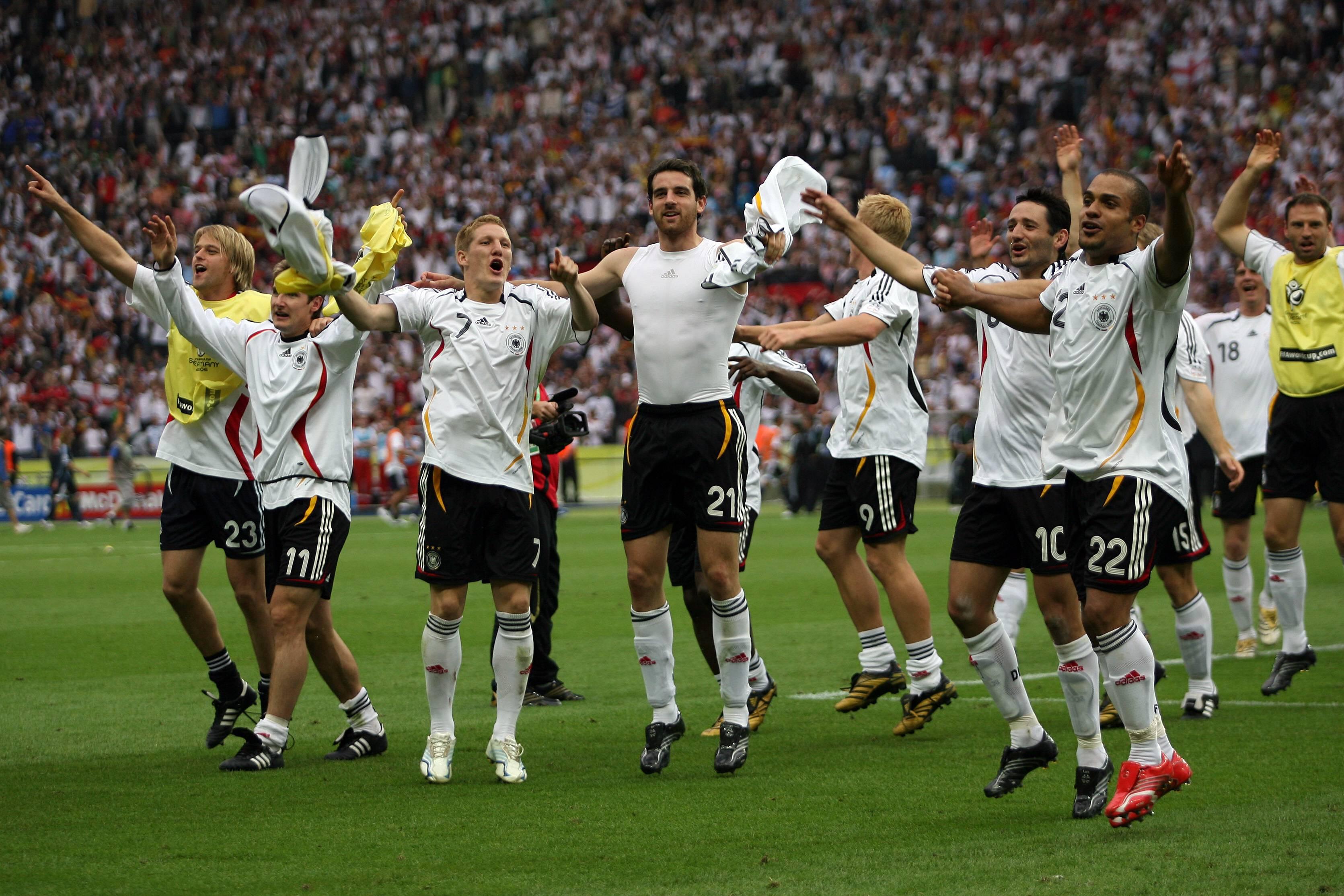Deutschland feiert die DFB-Elf