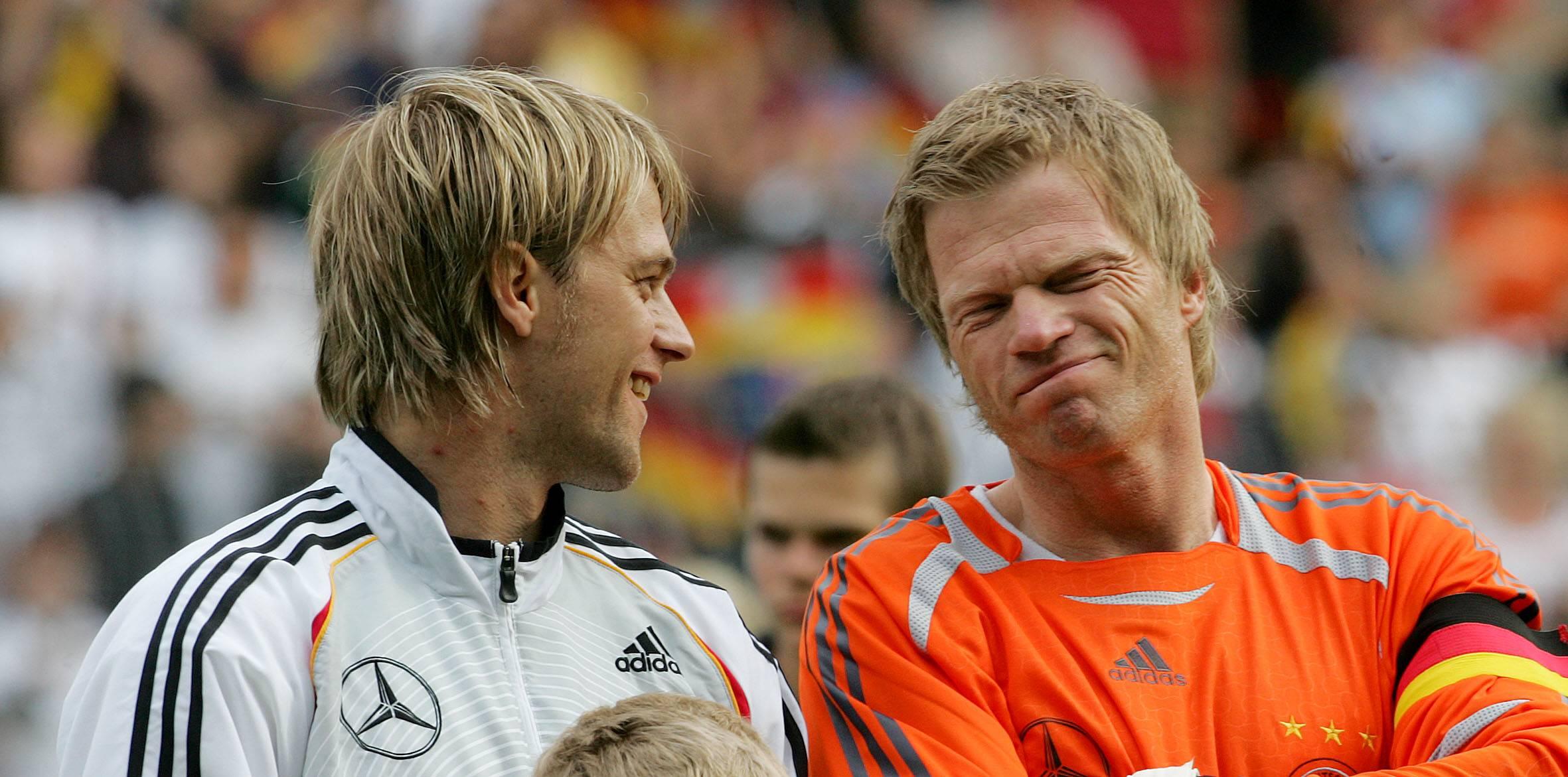 Timo Hildebrand und Oliver Kahn