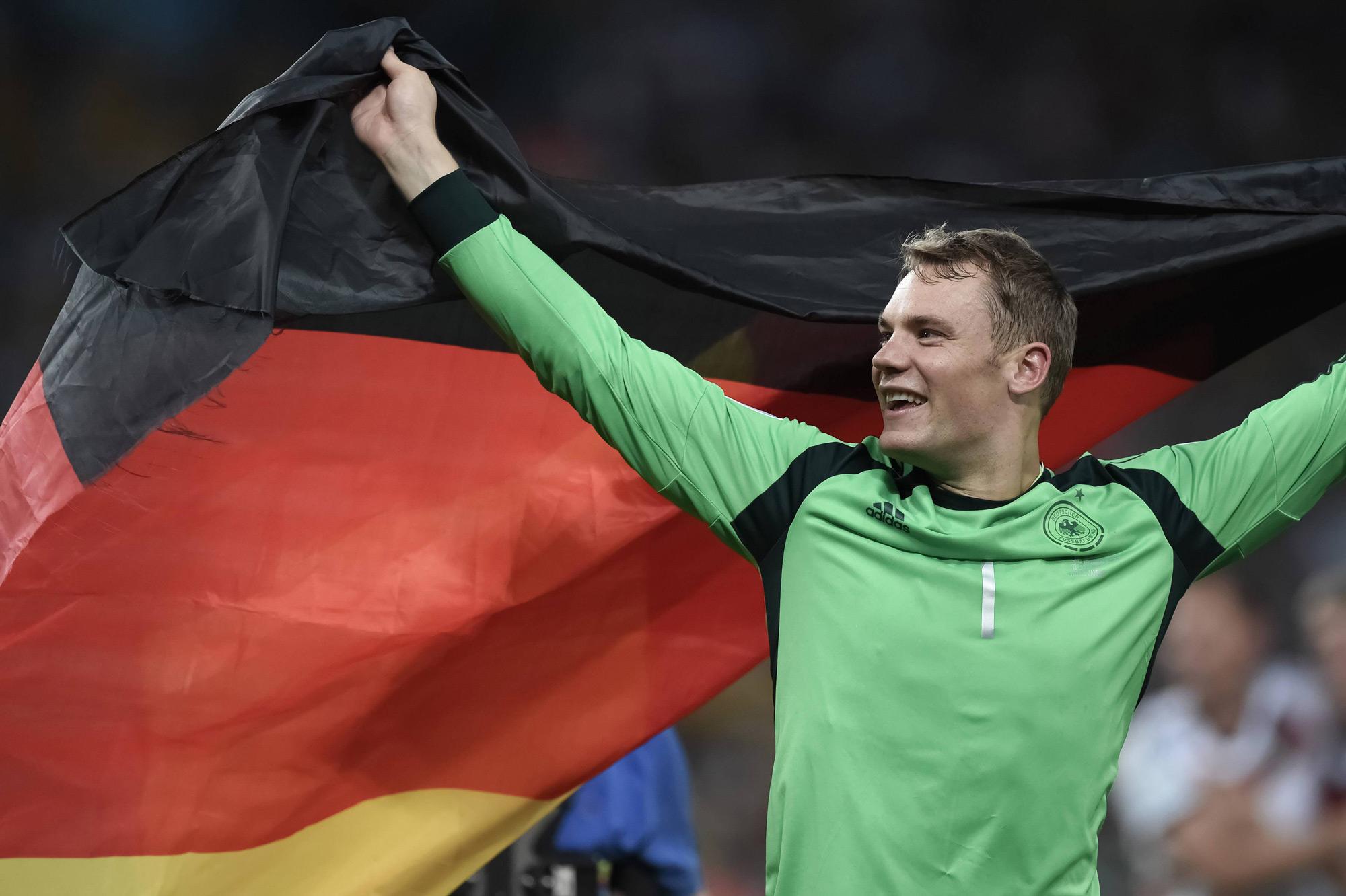 Neuer überragt beim WM-Titel 2014.